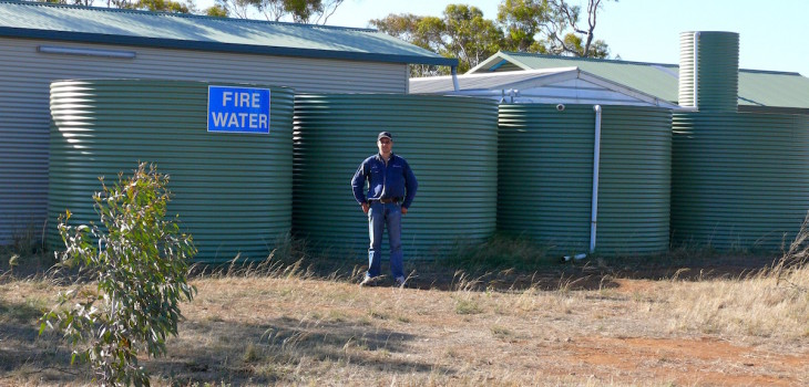 Aquaplate Water Tank