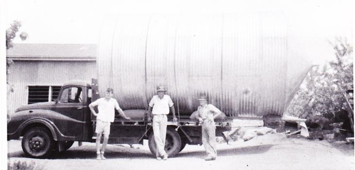 Arthur & Peter Elix in 1950