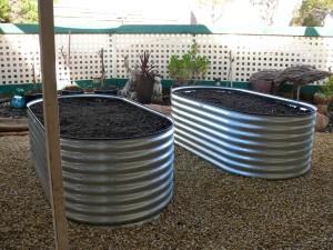 Twin Garden Beds